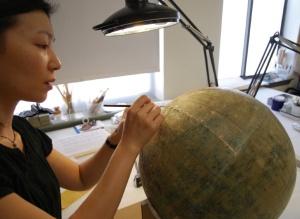 Conserving Einstein's Globe