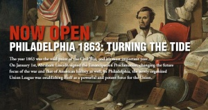 Union League - Turning the Tide 1863 Exhibit