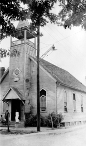 Macedonia AME Church in Seaford (ca. late 1930s) from Frank Zebley's Churches of Delaware