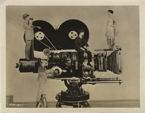 """A Movie Camera Study Of Those Who Mean Most To It"" from MGM Studios, 1927"