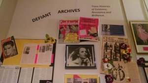 Defiant Archives exhibit 2015