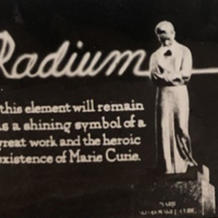 """""""Radium."""" Frank J. Hartman papers, 1904-1977 (MSS 2/340). Historical Medical Library of The College of Physicians of Philadelphia."""
